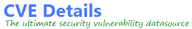 CVEdetails.com the ultimate security vulnerability data source